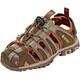 Hi-Tec Cove Sandals Kids boxed brown/cinnamon/core gold